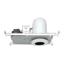 "Elco - Elco EL1499-75A N/A 4 Inch Low Voltage Housings 4"" 75W Single Light - Elco EL1499-75A 4"" 75W Single Light Airtight Low-Voltage Universal HousingElco meets your needs for value and performance in low-voltage recessed lighting. Their design begins with the highest quality low-voltage transformers on the market. Choose from their diverse selection of low-voltage housings and trims that feature an impressive variety of tilt-adjustable options (0- to 90-).Features:Versatile, reliable and easy to installIntegral thermal protector guards against improper lampingPre-wired junction box provided with 0.5"" and 0.75"" knockoutsMaximum (8) No. 12 AWG branch-circuit conductors (4 in, 4 out)Junction box provided with removable access platesHanger bars span 24"" joists and can be repositioned 90-6.5"" height allows for use in 2x8 constructionAirtightSpecifications:Lamp: 12V 75W MR16Dimensions: 6.5""H x 8""W x 5.25""LCeiling cutout: 4.25""UL damp location listedUL feed-through listedCompatible with the following Elco trims: EL1411, EL1412, EL1415, EL1416W, EL1418W, EL1419, EL1420, EL1421, EL1422, EL1423, EL1424, EL1425, EL1426, EL1429, EL1430, EL1431, EL1433, EL1434, EL1441W, EL1442, EL1444, EL1445, EL1448, EL1452, EL1453, EL1487, EL1488, EL1488S, EL1493, EL1493D, EL1493M, EL1494, EL1495, EL1496W, EL1497, EL1498, EL2412, EL2415, EL2421, EL2423, EL2429, EL2440, EL2443, EL2493, EL2497"