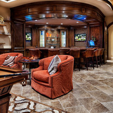 Home Theater by JAUREGUI Architecture Interiors Construction