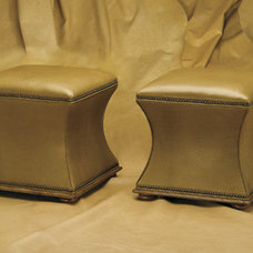 Traditional Footstools And Ottomans by wesleyhall.com