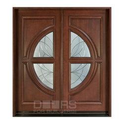Modern Collection (Custom Solid Wood Doors) - Custom Front Entry Door -  Modern Collection - Doors For Builders Inc.