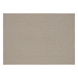 Loloi - Loloi In-Out Collection INOUIO-01BE003656 Rug - Hand-braided in China of 100-percent polypropylene, the In/Out collection offers a fun and simplistic look. This easy-to-place collection works nicely in an interior space or outdoors, and is available in an array of both neutral and vibrant colors.