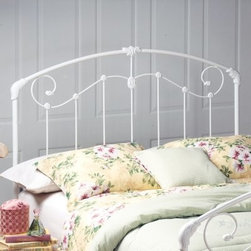 Hillsdale Maddie Headboard - Full/Queen - About Hillsdale FurnitureLocated in Louisville Ky. Hillsdale Furniture is a leader in top-quality affordable bedroom furniture. Since 1994 Hillsdale has combined the talents of nationally recognized designers and globally accredited factories to bring you furniture styling and design from around the globe. Hillsdale combines the best in finishes materials and designs to bring both beauty and value with every piece. The combination of top-quality metal wood stone and leather has given Hillsdale the reputation for leading-edge styling and concepts.