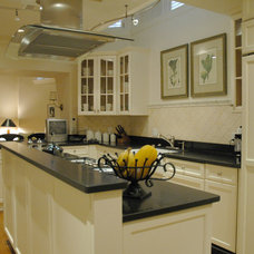 Traditional Kitchen by Lim Design Studio, Inc
