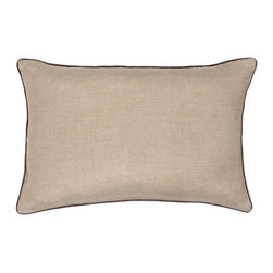 Christy - Christy of England Malmo Boudoir Cushion - Pewter Multicolor - 12000538618091113 - Shop for Pillows from Hayneedle.com! The Christy of England Malmo Boudoir Cushion - Pewter s namesake is Malmo the third largest city in Sweden - a global urban center renowned for its bustling commercial sector innovative tech industry and countless historical sights.And while this boudoir cushion may not be showing up on any maps of Scandinavia it most certainly will enhance your entire room with its chic subtle and downright sophisticated mood. The pewter hue has a metallic sheen that draws the eye without overwhelming the decor and the luxurious velvet piping adds that perfect touch of detail. The cushion is crafted of 100% linen with a handy zipper closure.About Christy LifestyleAmazing how something so soft could have such an incredible impact on the world. In 1850 Henry Christy procured a small sample of looped pile fabric unseen in the Western World. He and his brother Richard Christy were taken with the delicate feel and incredible absorbency of the material and soon learned ways of reproducing the loop pile mechanically. The mass-produced terrycloth was an instant sensation that even Queen Victoria ordered in abundance. One hundred sixty-five years later the Christy name is still at the height of luxury home interiors and stands as England's premier retailer of everything from exquisite homewares to famous Egyptian cotton towels. Christy has even become the official towel supplier of Wimbledon.
