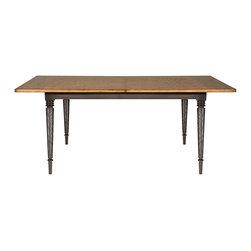 Vanguard Furniture - Vanguard Furniture Greystone Dining Table P770T1-HEWG - Vanguard Furniture Greystone Dining Table P770T1-HEWG