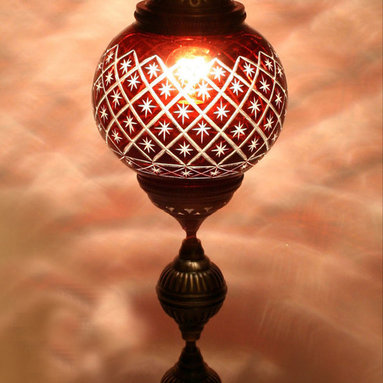 Turkish Style Decorative Table Lamp - *Code:  HD-97207_50