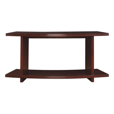 Stickley Curved Sofa Table 7543 -