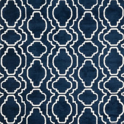 """Loloi - Loloi Cassidy HCD-01 (Navy) 7'6"""" x 9'6"""" Rug - This Machine Made rug would make a great addition to any room in the house. The plush feel and durability of this rug will make it a must for your home. Free Shipping - Quick Delivery - Satisfaction Guaranteed"""