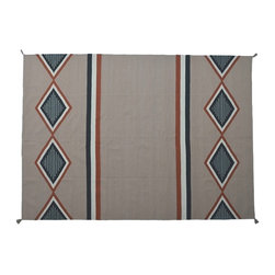 1800-Get-A-Rug - Navajo Design Hand Woven Flat Weave Sh8397 - About Flat Weave