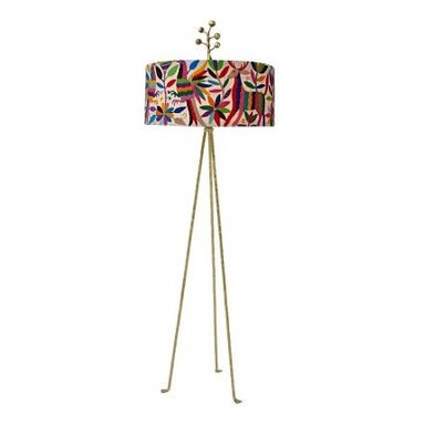 Lamps - Stray Dog Design Crewel Floor Lamp