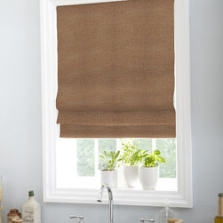 Boutique - Boutique Classic Roman Shade - Our Classic Roman Shade is made with high-quality materials and can embellish any decor.