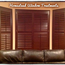 Shutter Jobs that we have completed for Customers - Hunter Douglas  NewStyle® Hybrid Shutters