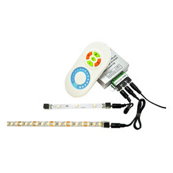 Inspired LED Lighting- LED Strip Dimmer with Wireless Remote - All Inspired LED products are modular, easy to use, & easy to install. Simply plug your Inspired LED lights and power supply into the dimmer and you are ready to go!