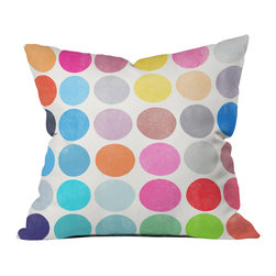 Garima Dhawan Colorplay 9 Outdoor Throw Pillow - Do you hear that noise? It's your outdoor area begging for a facelift and what better way to turn up the chic than with our outdoor throw pillow collection? Made from water and mildew proof woven polyester, our indoor/outdoor throw pillow is the perfect way to add some vibrance and character to your boring outdoor furniture while giving the rain a run for its money.