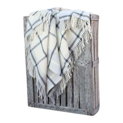 Happy Blanket - 100% Lambs Wool Throw Blanket - Wool is a natural temperature regulator, naturally hypoallergenic, naturally breathable and even improves sleep quality.