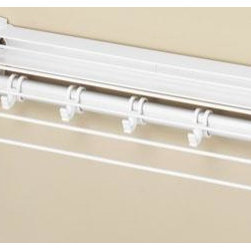 Home Decorators Collection - Retractable Drying Rack - Our Retractable Drying Rack folds away when not in use. Includes added accessory hooks to add to drying space. Order yours now. White finish. Quality crafted for years of drying.