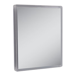 Zadro - Zadro Z'Fogless 2X Suction Cup Mirror-Zm01 - Get a closer, smoother shave with the Z'Fogless suction cup shower mirror.  It features a large, 2x magnification, high quality fogless mirror with a clear acrylic finish.