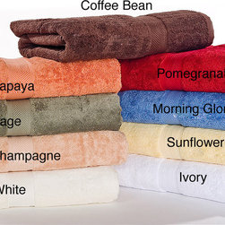 None - Calcot Supima Cotton 3-piece Towel Set - Instantly add a sense of luxury to your bathroom with this three-piece,cotton,bath towel set available in nine luscious colors. Fashioned out of 100 percent cotton and ring-spun to perfection,these soft bath towels are designed to last.