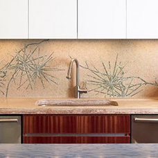tropical tile by Cabochon Surfaces & Fixtures