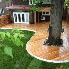 Traditional Deck by M.E Contracting