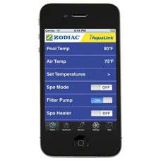 Tropical Hot Tub And Pool Supplies iAquaLink Smart-Phone App