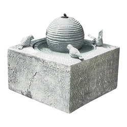 Birdbath Ball Solar On Demand Fountain