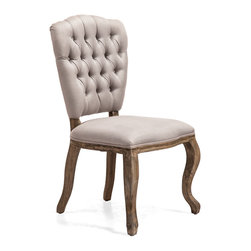 ZUO ERA - Eddy Chair Beige (set of 2) - Eddy Chair Beige