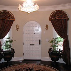 Eclectic Window Treatments by Installations Etc.