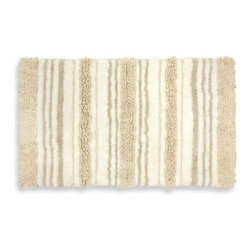 Mohawk - Renaissance Mirage Bath Rug in Natural - Beauty and comfort go hand in hand with the Renaissance Luxury Bath by Mohawk Home. This ultra-plush bath rug, made exclusively for Bed Bath & Beyond will transform your space into a tranquil oasis.