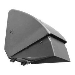 Hubbell Outdoor - Hubbell WGC 100W Pulse Start Metal Halide Outdoor Wallpack - Full cutoff perimeter lighting.