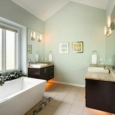 Contemporary Bathroom by 2SL Design Build Inc