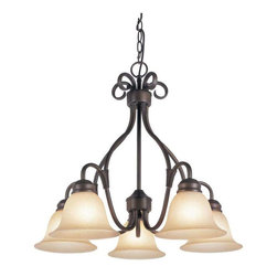 Trans Globe Lighting - Trans Globe Lighting 70226 ROB Chandelier In Rubbed Oil Bronze - Part Number: 70226 ROB