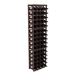 Wine Racks America - 4 Column Magnum/Champagne Cellar Kit in Redwood, Burgundy + Satin Finish - A special rack with large bin openings for proper preservation of 60 1.5L wine bottles. Integrates with other instaCellar racking easily. Our magnum style rack is designed for stability, beauty and longevity. You'll be impressed by this rack or get your money back. Guaranteed.