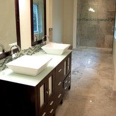 Modern Bathroom Vanities And Sink Consoles by Vanity For Less, LLC