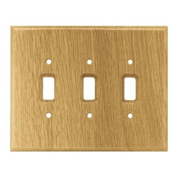 Liberty Hardware - Liberty Hardware 126430 Wood Square WP Collection 5.67 Inch Switch Plate - Mediu - A simple change can make a huge impact on the look and feel of any room. Change out your old wall plates and give any room a brand new feel. Experience the look of a quality Liberty Hardware wall plate.. Width - 5.67 Inch,Height - 7.1 Inch,Projection - 0.3 Inch,Finish - Medium Oak,Weight - 0.2 Lbs