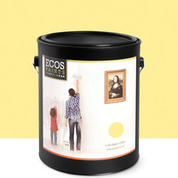 Imperial Paints - Eggshell Wall Paint, Gallon Can, Lemon Peel - Overview: