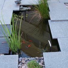 Contemporary Outdoor Fountains And Ponds by Landscape And Architectural Design Products PL