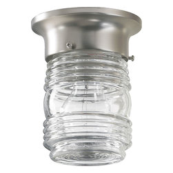 "Quorum International - Quorum 3009-3-65 3.25"" Jelly Jar Ceiling Mount -St - Quorum 3009-3-65 3.25"" Jelly Jar Ceiling Mount -St"