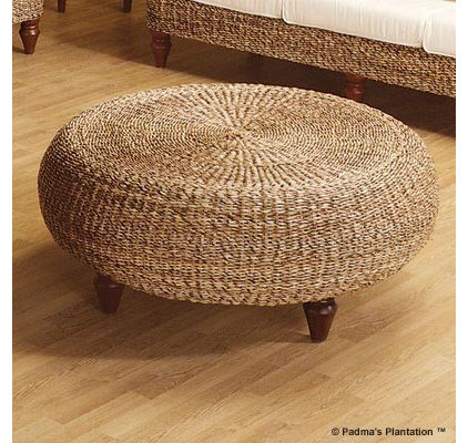 Eclectic Footstools And Ottomans by Carolina Rustica