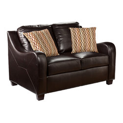 Holly & Martin - Braxton Stationary Loveseat - The comfort and beauty of this loveseat are sure to spark love at first sit. The luxury and exquisiteness of this loveseat are sure to inspire compliments and be the envy of your guests.