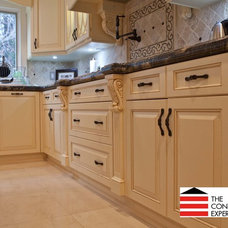 Contemporary Kitchen Cabinetry by The Construction Experts