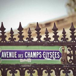 Champs De Elysees-Paris, Fine Art Photography Print, 8X12 - Taken April 2012, Paris France