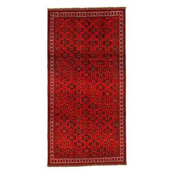 eSaleRugs - 4' 11 x 9' 9 Shiraz Persian Runner Rug - SKU: 22129421 - Hand Knotted Shiraz rug. Made of 100% Wool. 40-50 Years(Semi Antique).