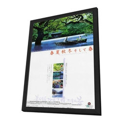 Spring, Summer, Fall, Winter... and Spring 27 x 40 Movie Poster - Japanese Style - Spring, Summer, Fall, Winter... and Spring 27 x 40 Movie Poster - Japanese Style A - in Deluxe Wood Frame.  Amazing movie poster, comes ready to hang, 27 x 40 inches poster size, and 29 x 42 inches in total size framed. Cast: Jong-ho Kim