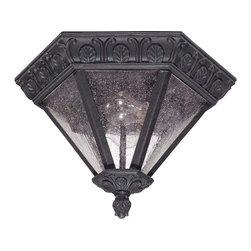 Nuvo Lighting - Nuvo Lighting 60-2037 Cortland 1-Light Flush Dome with Seeded Glass - Nuvo Lighting 60-2037 Cortland 1-Light Flush Dome with Seeded Glass