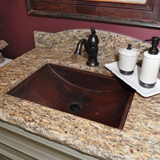 Mediterranean Bathroom Sinks by Kitchens Etc. of Ventura County