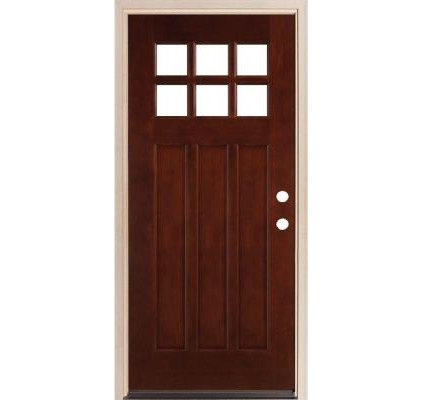 Wooden doors exterior wooden doors home depot for Home depot front doors wood