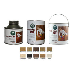 Fiddes Hard Wax Wood Oil - Lightning 2.5 Liter - Child safe when dry.  Natural satin finish with an excellent coverage.  To maintain / renovate, simply wash, buff or re-apply.  A single application will cover approximately 20-24 square meters per litre, depending on the density of the substrate.