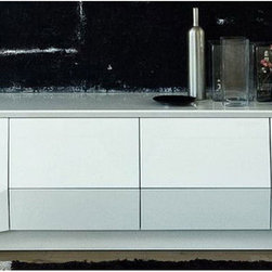 Rossetto - Sapphire Buffet in White - Features: