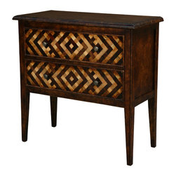 TerraSur - Renzo Chest - The Renzo Chest brings together classic lines and home couture style. The geometric design on